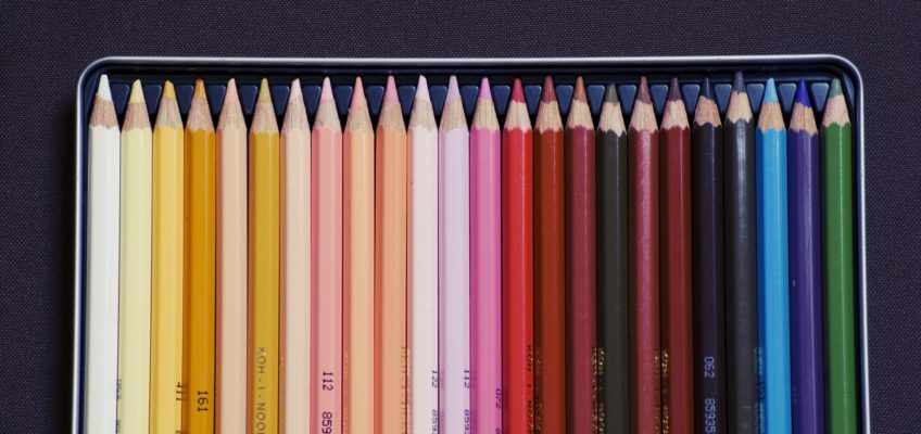 colors crayons colored pencils